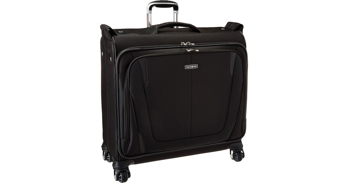 Lyst - Samsonite Silhouette® Sphere 2 Deluxe Voyager Garment Bag in Black 72438238963ea