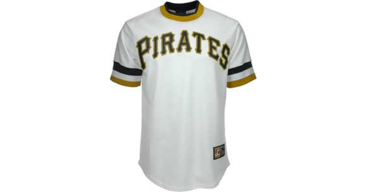 Lyst - Majestic Mens Roberto Clemente Pittsburgh Pirates Cooperstown  Replica Jersey in White for Men a5974ca87