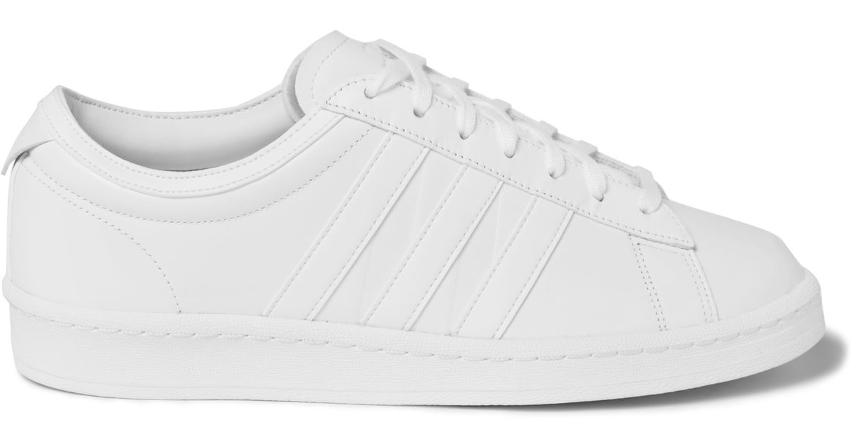bfa2b113c632 adidas Originals + White Mountaineering Supergrip Leather Sneakers in White  for Men - Lyst