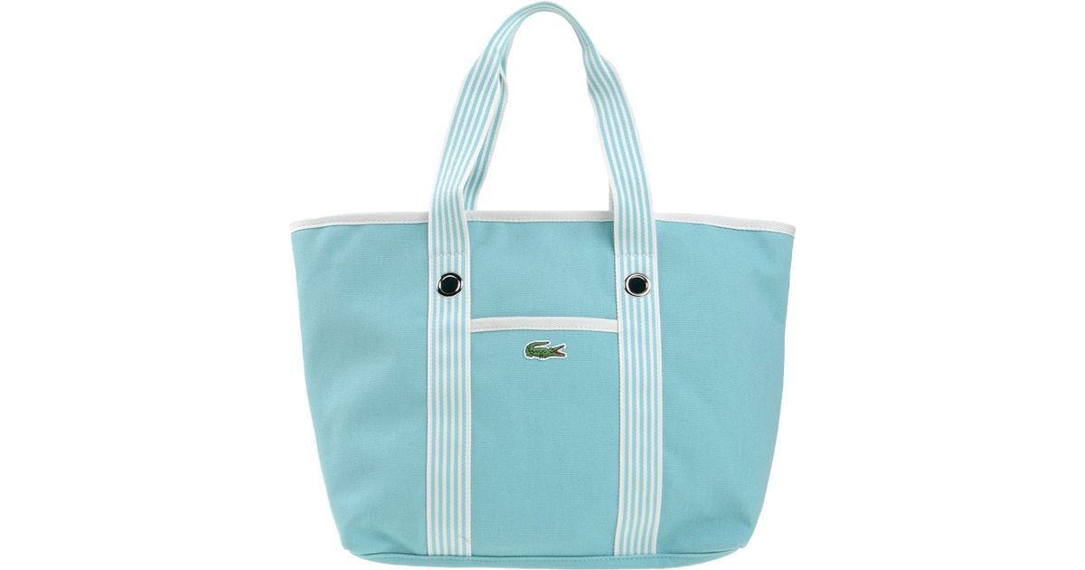51e5b1f3925 Lacoste Handbag in Blue - Lyst