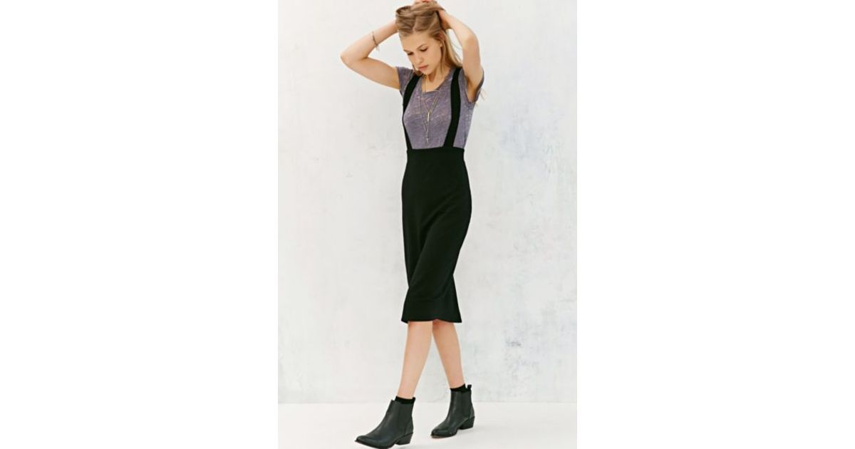 Opinion High waist suspenders pencil skirt something also