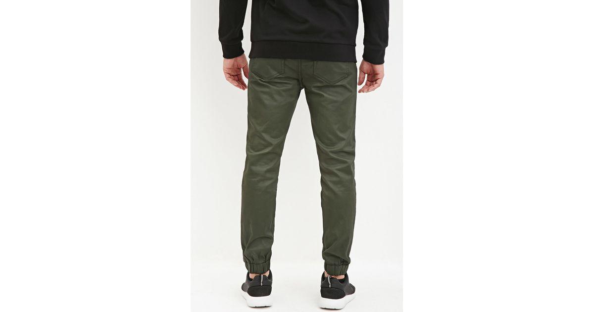 Fantastic Elwood Black Chino Skinny Jogger Pants