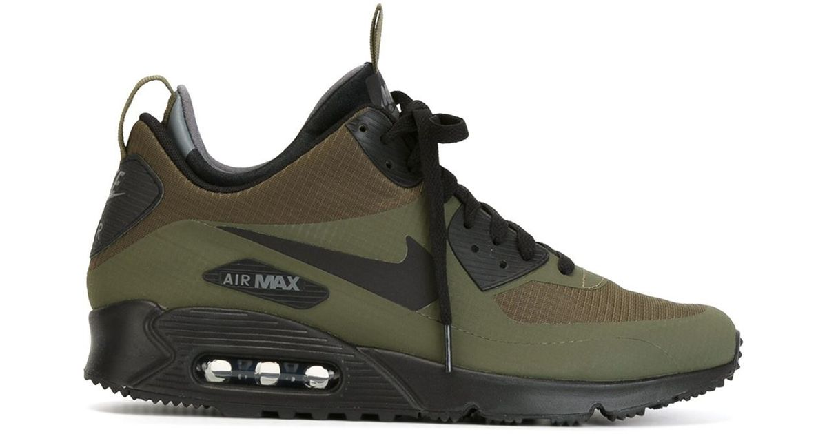 77588716bfe3e8 Nike - Green Air Max 90 Mid Winter Sneaker Boots for Men - Lyst