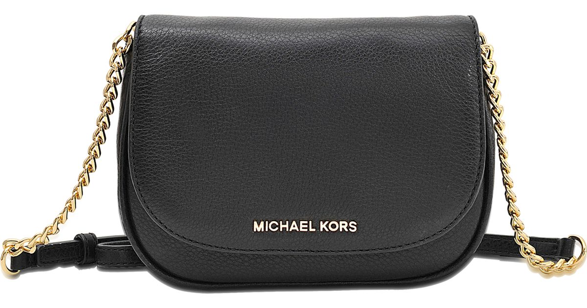 e032c7c78839 MICHAEL Michael Kors Bedford Small Crossbody Bag in Black - Lyst