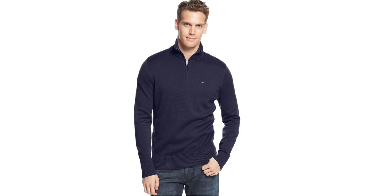 Half Zip Sweater Mens