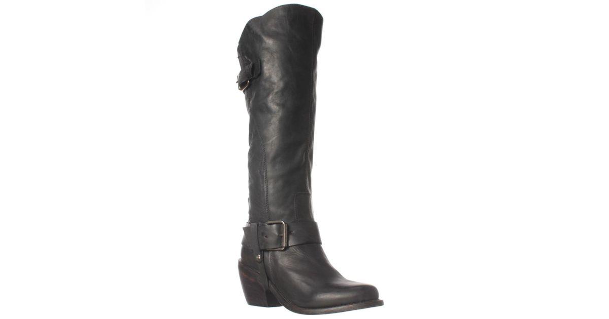 dolce vita engrid knee high boot in black lyst