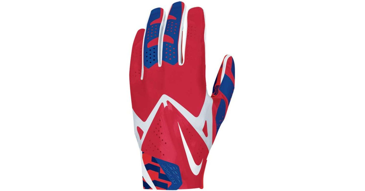 ec8494cc0 Lyst - Nike New York Giants Vapor Fly Team Authentic Glove in Blue for Men