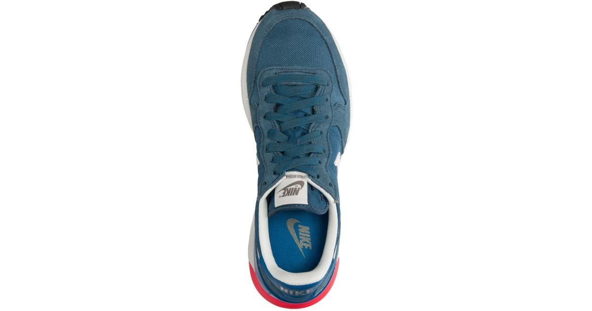 hot sale online 053b2 91c67 Lyst - Nike Men S Lunar Internationalist Casual Sneakers From Finish Line  in Blue for Men