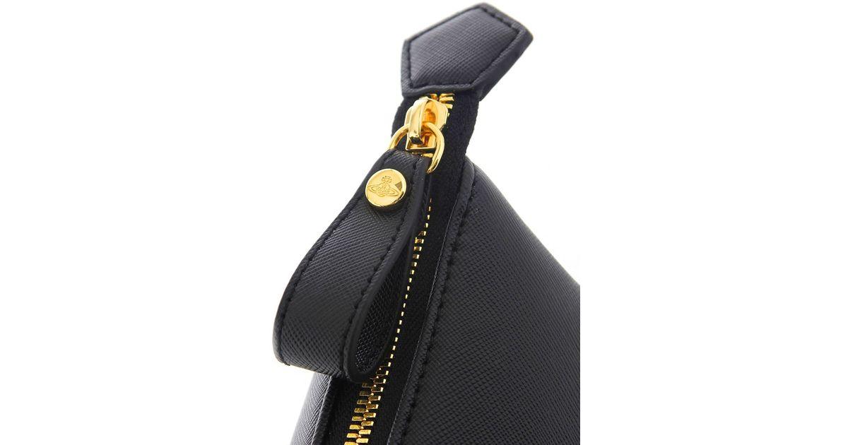 a1ca9bc484c Vivienne Westwood Divina Tote Bag in Black - Lyst