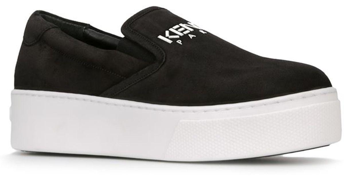 Sneakers In Lyst Kenzo Black Paris roCBWdex