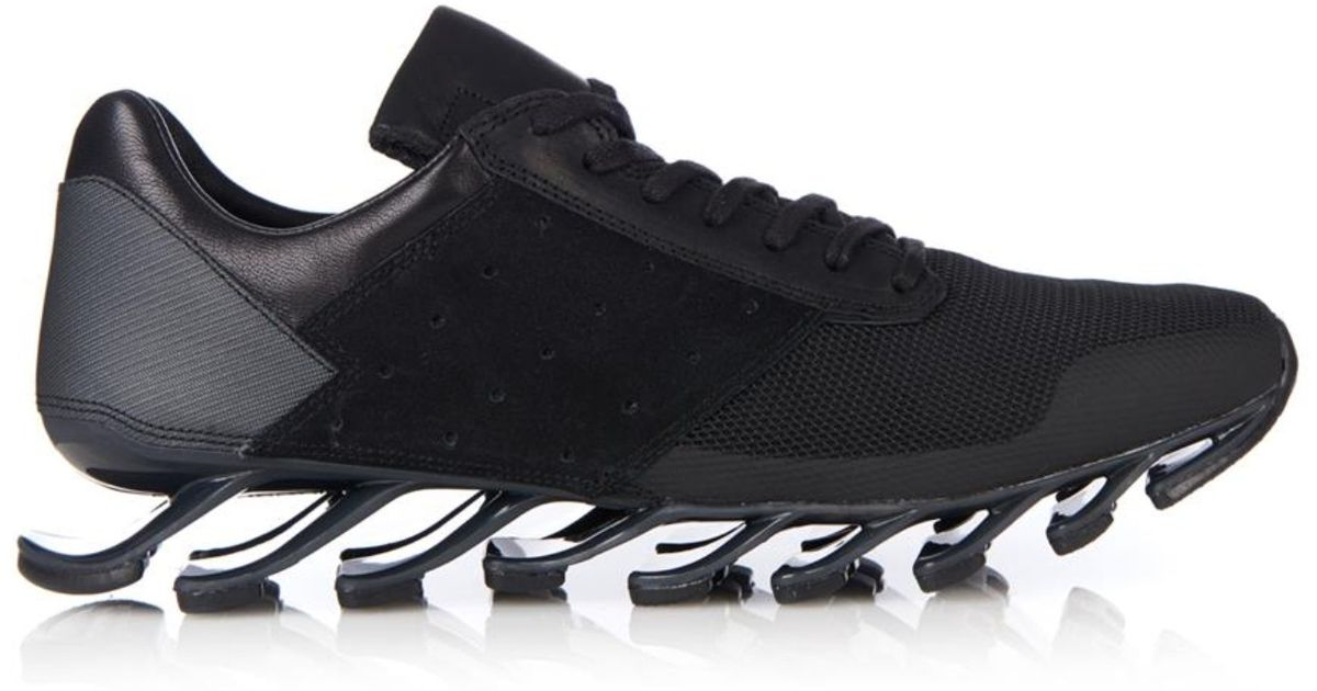 7ea3fb283 ... get lyst rick owens x adidas springblade trainers in black for men  38c1f 5435c
