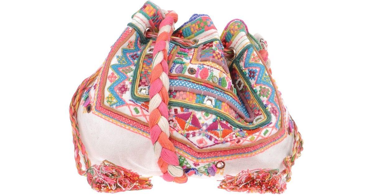 4586091ca1 Lyst - Antik Batik Cross-body Bag in White