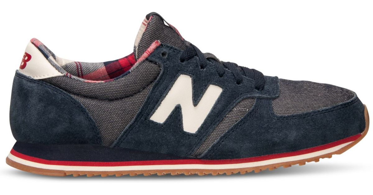 new balance 420 red plaid