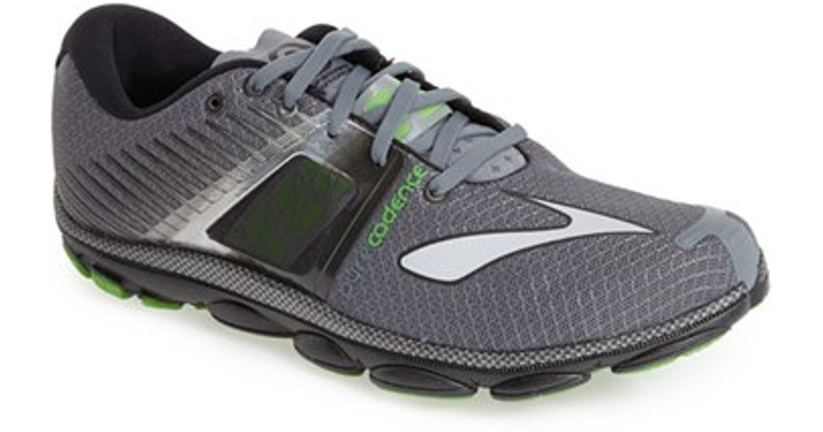 1876d218990 Lyst - Brooks  pure Cadence 4  Running Shoe in Gray for Men