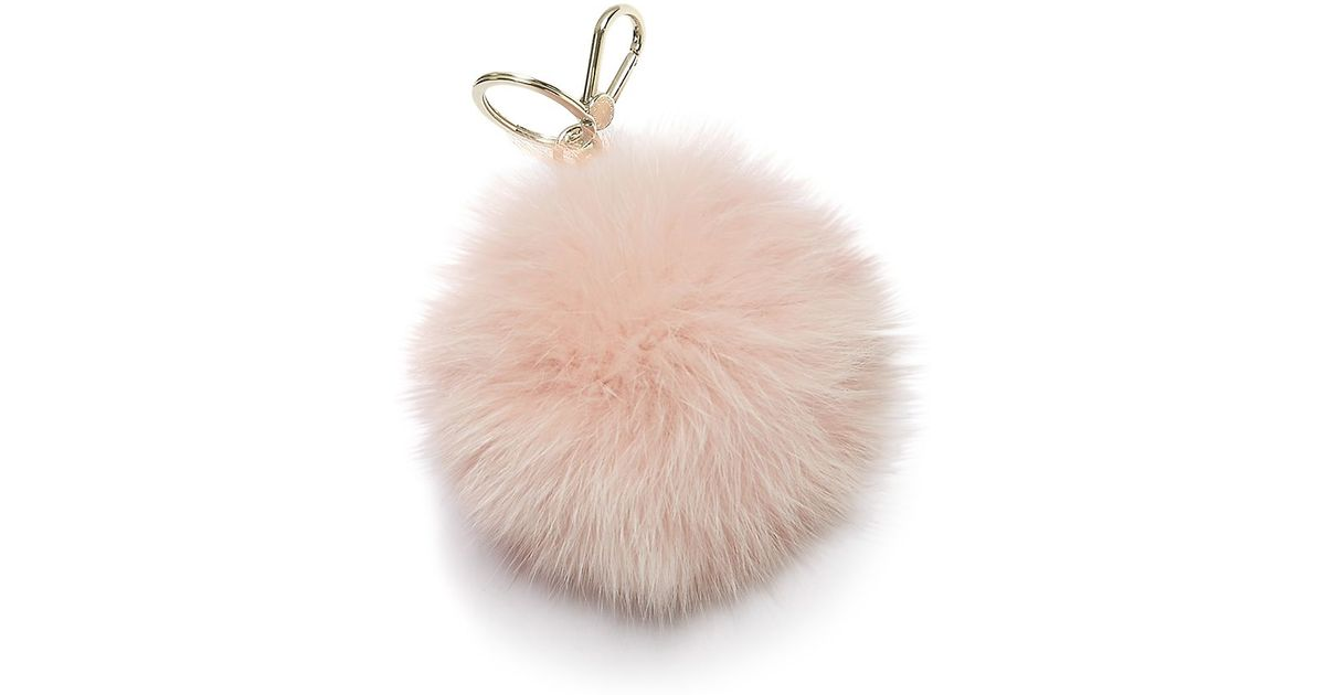 Bubble pom pom jey ring - Pink & Purple Furla OIbxl