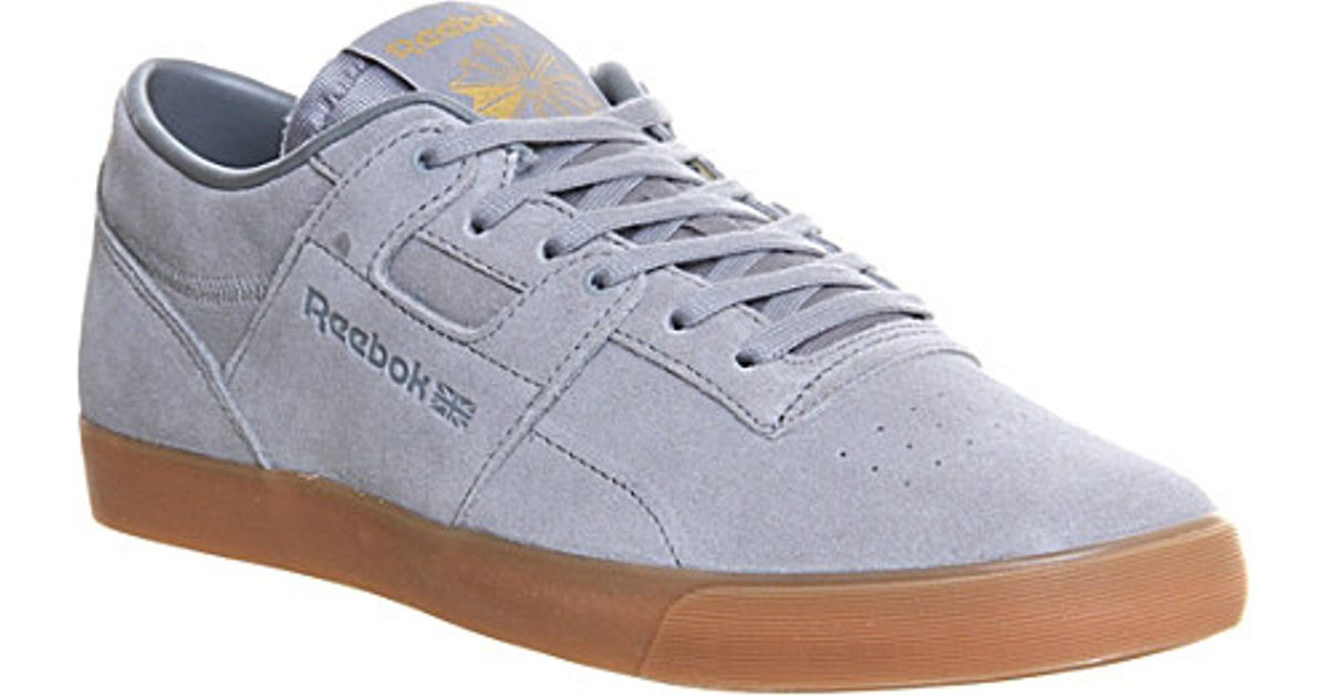 Reebok Workout Low Trainers - For Men in Gray for Men - Lyst 75b7d80da