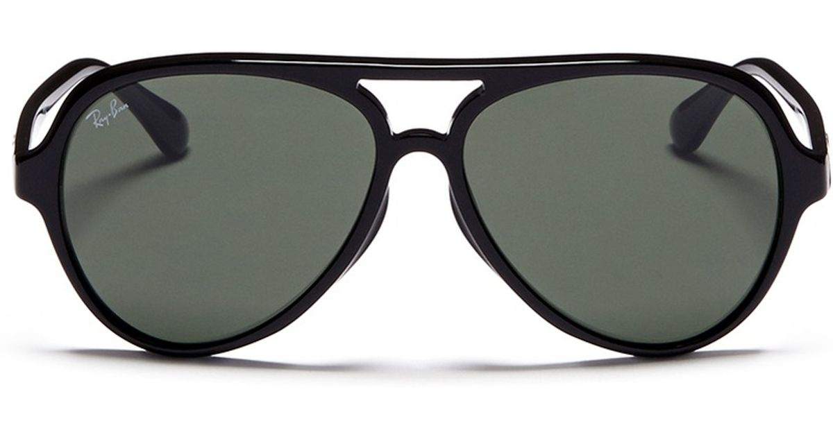 b1a7256b401 Ray-Ban Acetate Aviator Sunglasses in Black for Men - Lyst