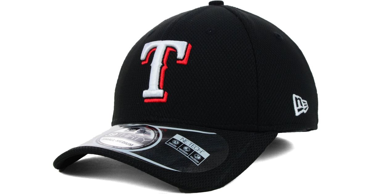 quality design 2786b c991a ... 9fifty snapback cap 99042 0fc9e  cheap lyst ktz texas rangers mlb  diamond era black 39thirty cap in black for men 6ce64