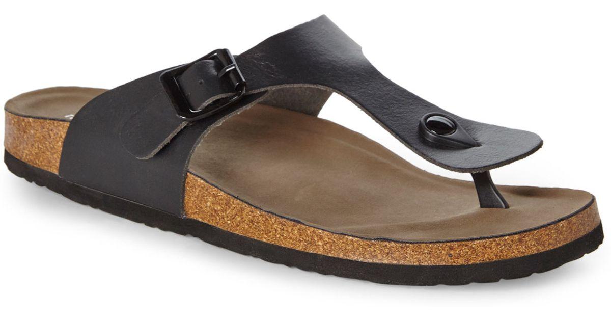 b10feab62903f Lyst - Madden Girl Black Boise Sandals in Black