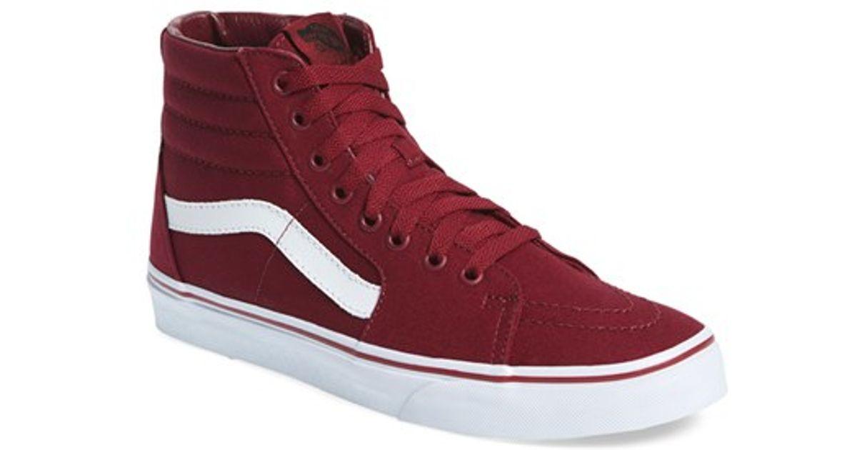 Lyst - Vans  sk8-hi  Sneaker for Men bff3d301e