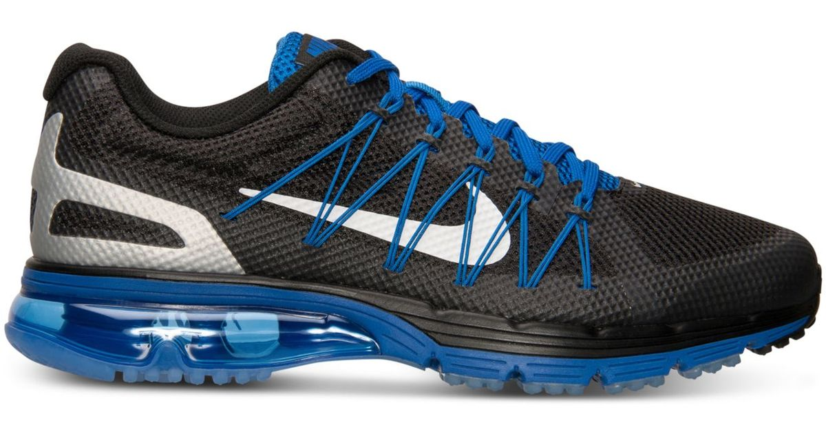 on sale b4ac3 63946 Lyst - Nike Mens Air Max Excellerate 3 Running Sneakers From Finish Line  in Blue for Men