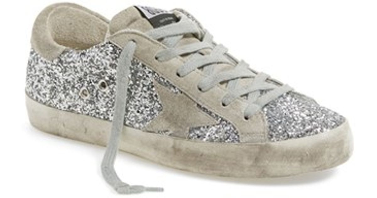 143fad9b4907 Lyst - Golden Goose Deluxe Brand  superstar  Glitter Sneaker in Metallic
