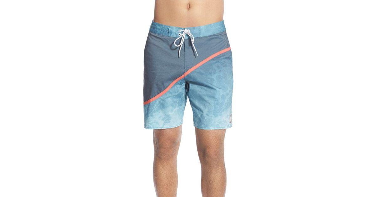 9682bcf60d Billabong 'pulse Lo Tides' Board Shorts in Blue for Men - Lyst