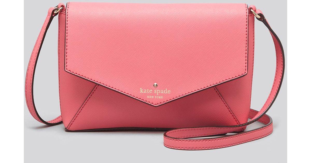 Lyst - Kate Spade Crossbody - Cedar Street Large Monday in Pink a4c4019701dcb