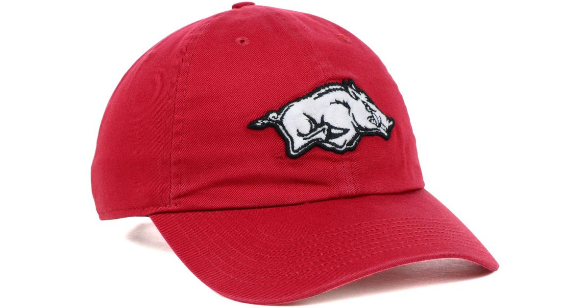 1d9af600a8d ... cheapest lyst nike arkansas razorbacks ncaa dri fit tailback cap in red  for men 4bdb7 44e4c