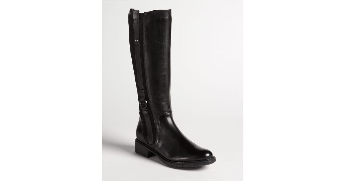 240b6a36aa7 Lyst - Blondo Varda Leather Tall Boots in Black