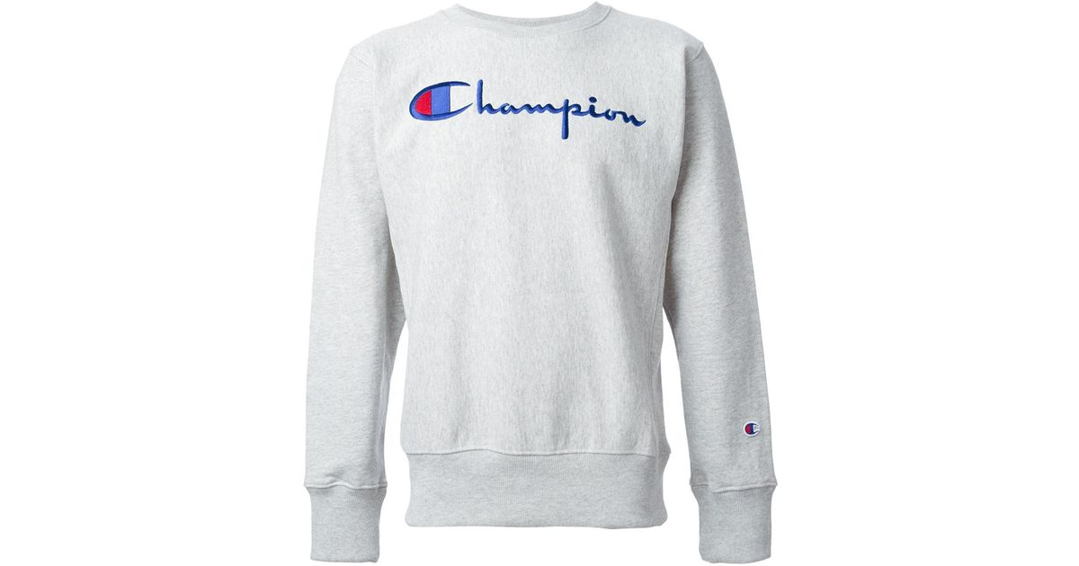 CHAMPION embroided sweatshirt SZZF1