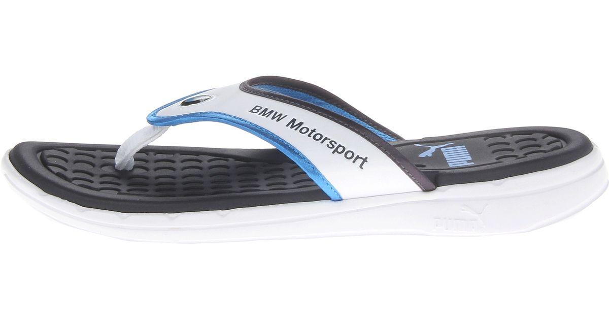 7c9e894550e Lyst - PUMA Bmw Slip in Thong Sandal in Blue for Men