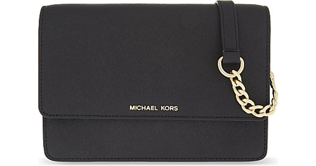 discount how to orders rational construction MICHAEL Michael Kors Black Daniela Small Leather Cross-body Bag