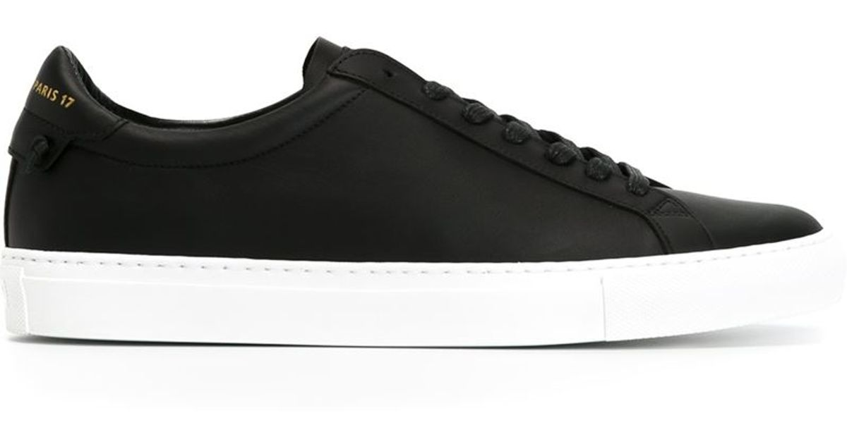 classic low-top sneakers - Black Givenchy wVUk0d0PS8