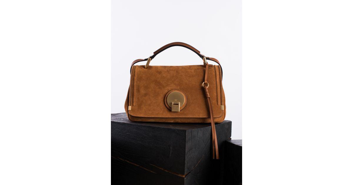 Chlo�� Indy Medium Shoulder Bag in Brown (caramel) | Lyst