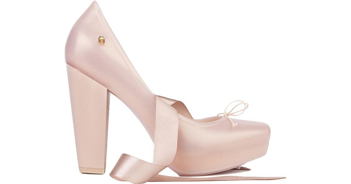 Lyst - Melissa Ballet Heel in Pink