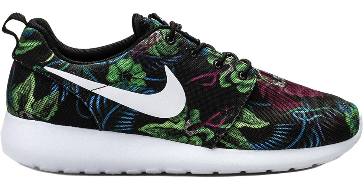 new products ab48a e6873 Lyst - Nike Roshe Run Print Smoky Lotus in Purple for Men