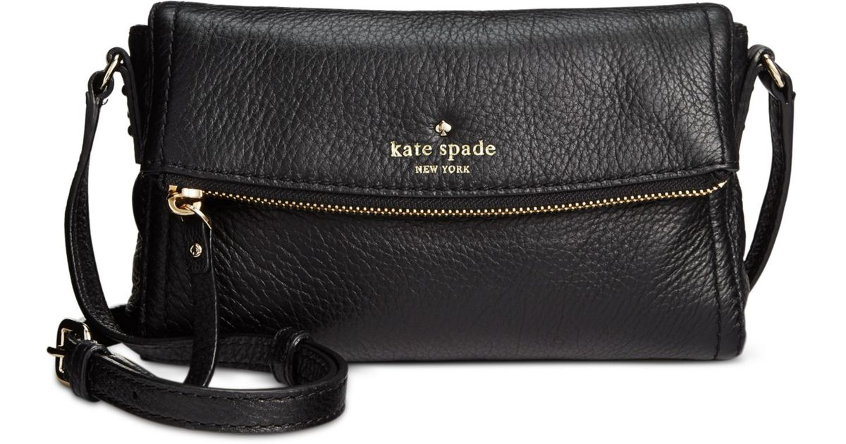 Lyst - Kate Spade Cobble Hill Mini Carson Crossbody in Black 7ff8a0e776