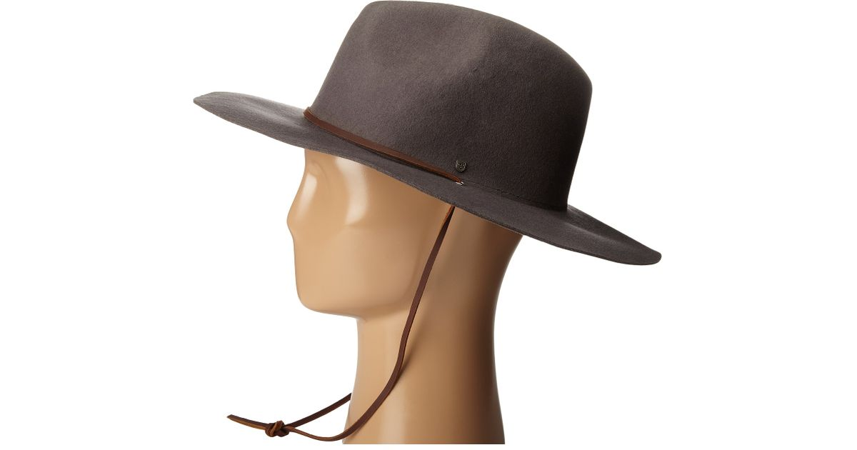 c0569915708 Lyst - Brixton Mayfield Ii Hat in Gray for Men