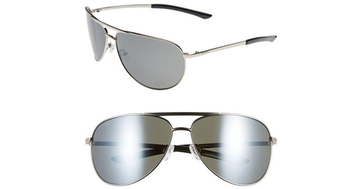66b40d6dd8dd5 Lyst - Smith Optics  serpico  66mm Polarized Sunglasses in Metallic for Men