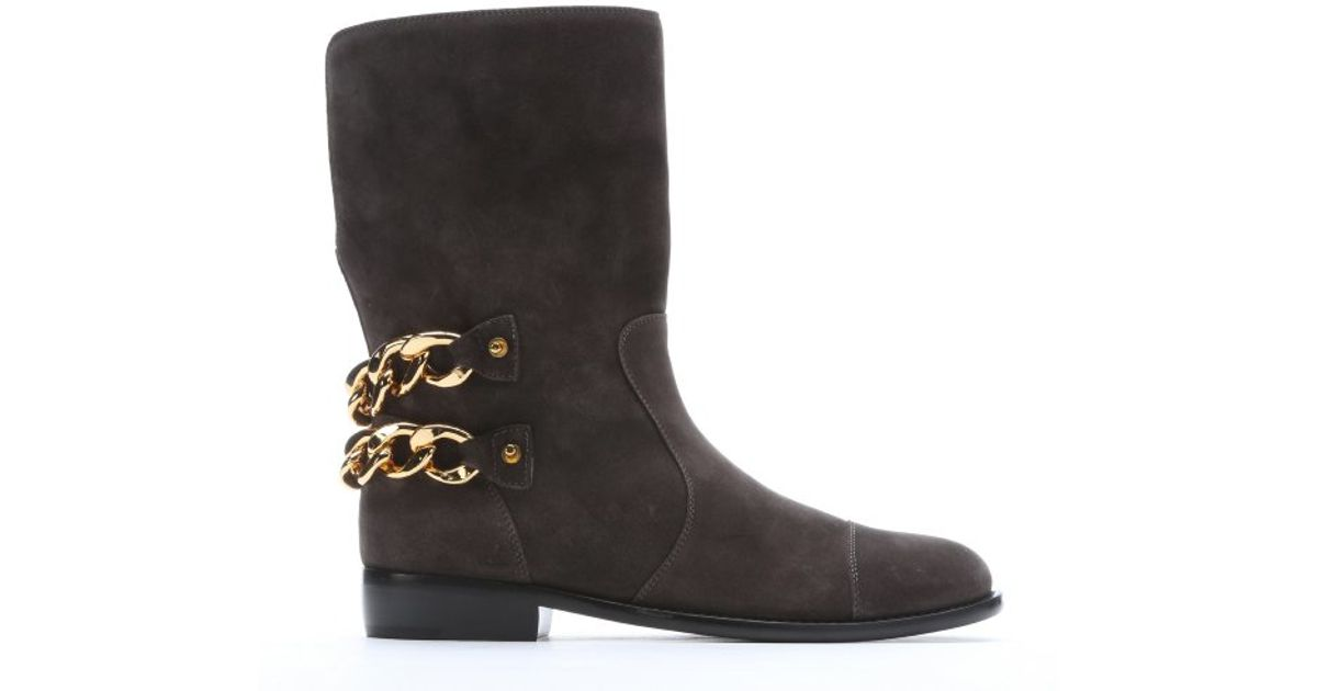 Giuseppe Zanotti Cobain Chain-Link Boots where can you find Ny9Nxi