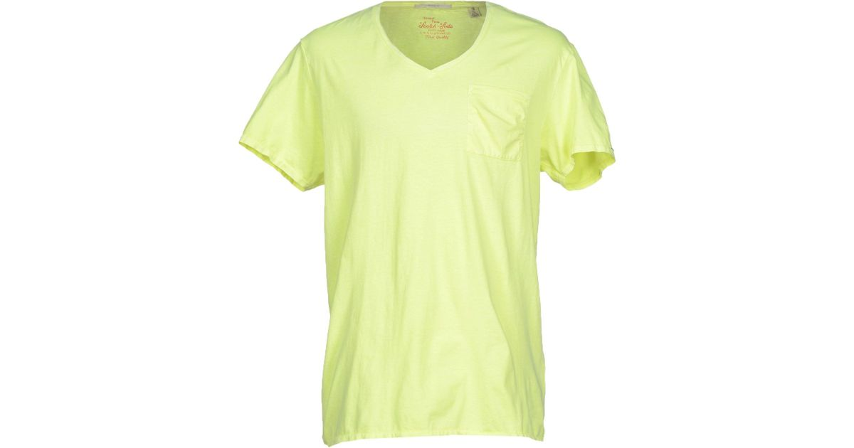 Lyst - Scotch   Soda T-shirt in Green for Men 7bfdd6807f6