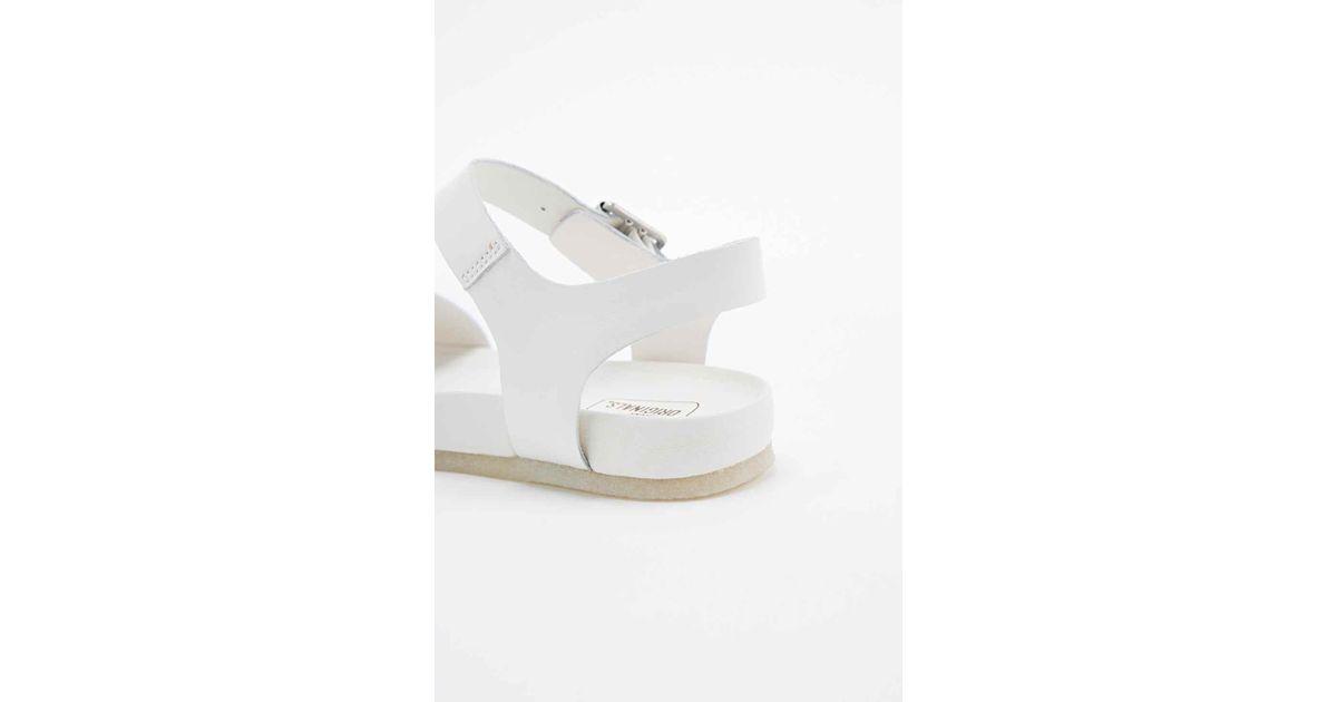 561fedf3e00 Clarks Dusty Soul Sandals In White in White - Lyst