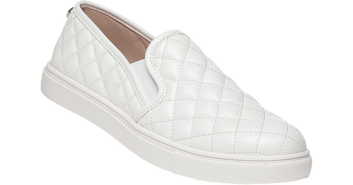 33723a6154 Steve Madden Ecentrcq Slip-on Sneaker White in White - Lyst