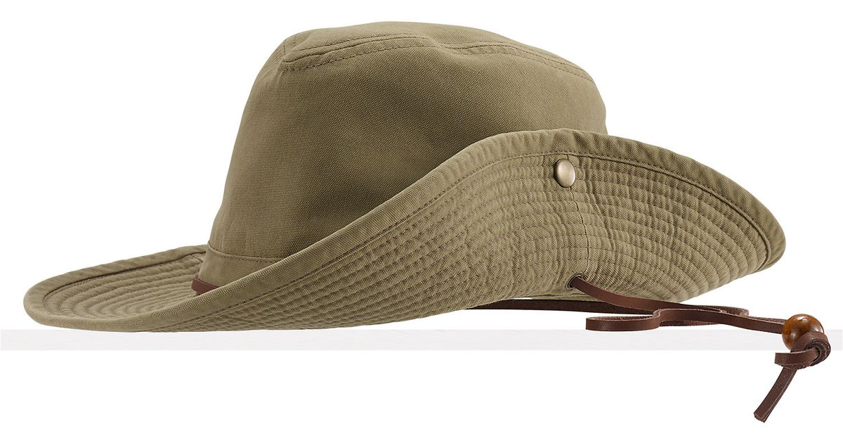 Lyst - Ralph Lauren Safari Hat in Green e5a7aa5db97