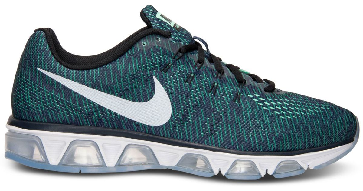 e4d1e2313db Lyst - Nike Men s Air Max Tailwind 8 Running Sneakers From Finish Line in  Green for Men