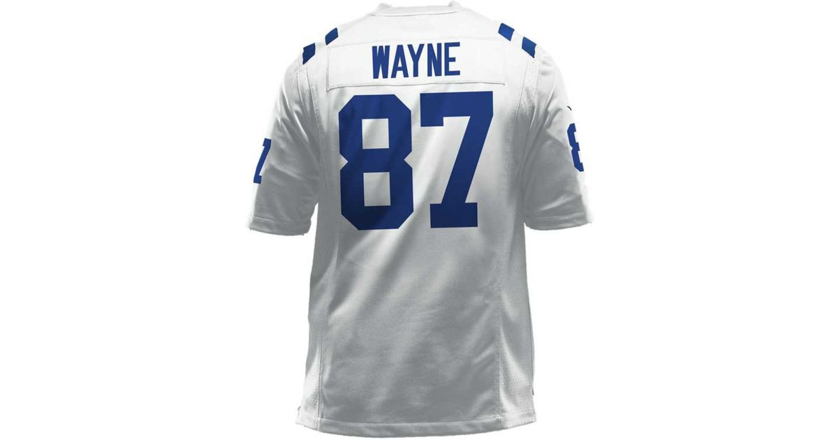 new style cb1a1 082fd Nike - White Men's Reggie Wayne Indianapolis Colts Game Jersey for Men -  Lyst