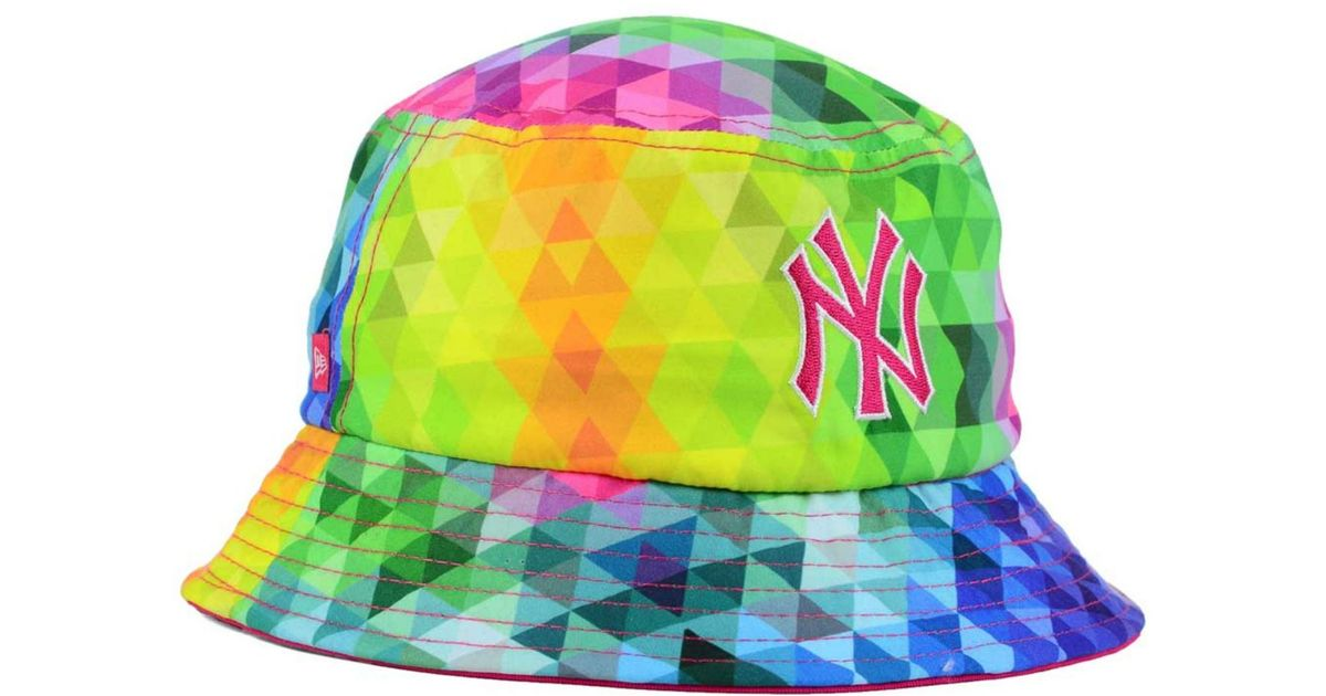 eac2163358f ... lyst ktz kids new york yankees gem bucket hat