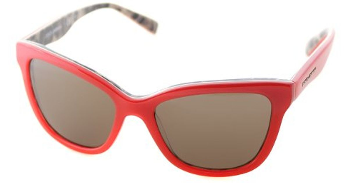 Lyst - Dolce   Gabbana Dolce And Gabbana Dg 4237 288573 Opal Lobster On  Leopard Cat-eye Plastic Sunglasses in Red e32dade050