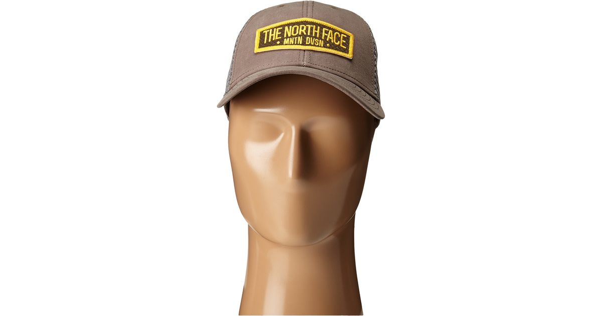 1ccd5fec91a95 Lyst - The North Face Patches Trucker Hat in Brown for Men